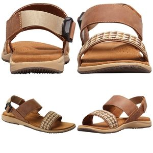 🆕 Columbia leather sandals size 9